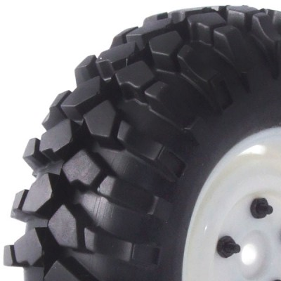 Fastrax 'kong' Crawler Tyre w/1.9 Scale Wheel 90mm (wh)