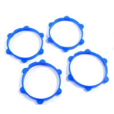 Fastrax FAST0176 Blue 1//10th Rubber Tyre Bands 4 RC Part