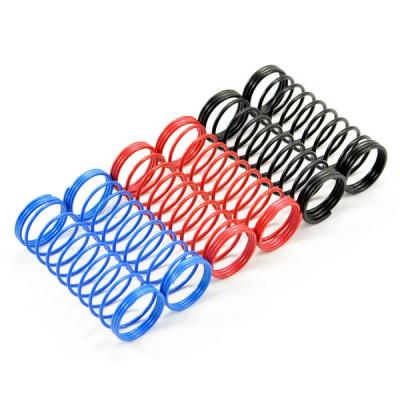 Fastrax 1/10th 85mm Spring Set Soft/Blue, Med/Red, Hard/Black