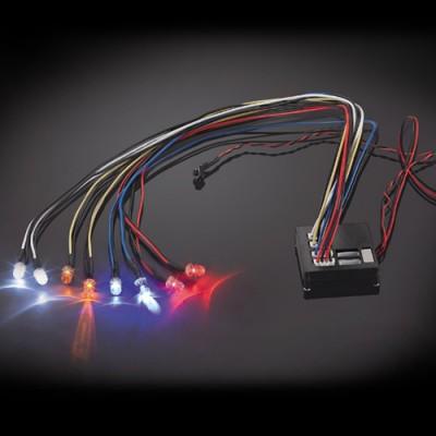 Fastrax Flashing Light Kit Multiple Functions 8-led Light