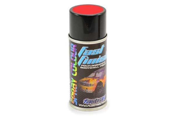 Fastrax Fast Finish Cosmic Glo Red Spray Paint 150ml