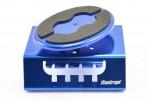 Fastrax Blue Alum Locking Rotating Car Maintenance Stand w/magnet